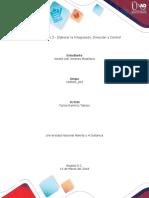 Unidad 2, Integración, Dirección y Control, en el entorno de conocimiento..docx