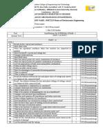 QB format for lab cum theory