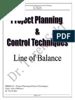 7.PRMG 010 - Line of Balance