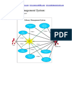 Library Management System -System Use Case Diagram