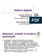 Biblioteca digitale (Paul Gabriele Weston).ppt