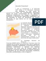 Tema I. Antecedentes de la Educación Financiera