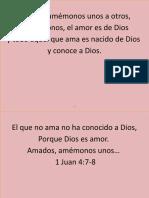 Amados, Amemonos Unos a Otros, Si Amemonos, El Amor