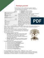 Patologia generale professioni sanitarie