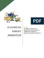 Les techniques d'animation