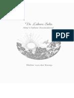 Walter Van Der Kamp-The Heart of the Matter -De Labore Solis
