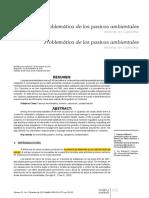 Pasivos ambientales mineros en colombia