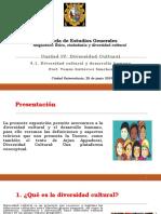 Unidad IV - 4.1. Diversidad cultural y desarrollo humano