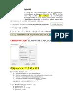 DISTRIBUCION BINOMIAL POISSON HIPER Y NORMAL.docx