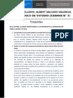 MODULO VII -EVALUACION-SALCEDO VALENCIA, ALBERT