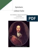Leibniz. Epistolario Leibniz Clarke