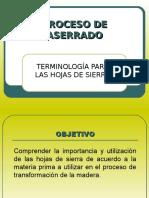 PROCESO DE ASERRADO