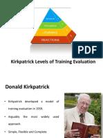 kirkpatricklevelsoftrainingevaluation-140413223547-phpapp02