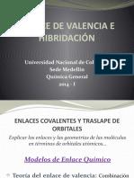 12. Enlace de Valencia e Hibridación quimica 1