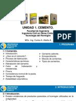 Unidad 1.2-Cemento