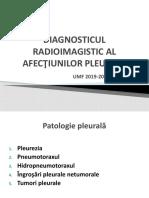 LP 4 Diagnosticul radioimagistic al afectiunilor pleurale