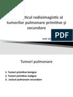 LP 3 Tumori pulmonare primitive si secundare