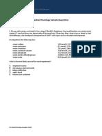 SCE-Medical Oncology-SampleQs-dec-13