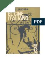 El Cine Italiano (Pierre Leprohon 1971)