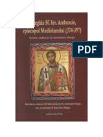 Liturghia Sfantului Ierarh Ambrozie Epis