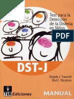 Manual tes para identificar la dislexia