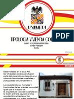 TIPOLOGIA DE VIVIENDA COLONIAL