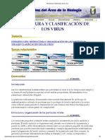 Estructura y Clasificación de los virus