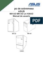 Manual ASUS PC M31AD OLD