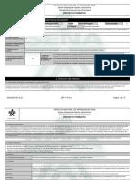 Reporte Proyecto Formativo - 1723561 - TECNIFICACIÓN DE UNIDADES PROD