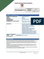 CALCULO DIFERENCIAL - 2020-1