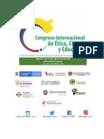 1. PRESENTACIÓN. Congreso Internacional de ética