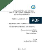 Instructivo de Trabajos Adm. Pub. Ecuatoriana.pdf