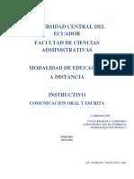 2019-2019-REDISEÑO- INSTRUCTIVO- COMUNICACIÓN ORAL Y ESCRITA- (1) UCE