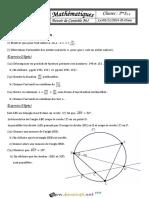 Devoir de Contrôle N°1 - Math - 1ère AS (2016-2017) Mr Salhi Noureddine