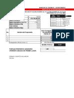 Tabla de calificacion propuestas economicas