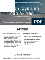 Akidah, Syari'ah dan Akhlaq.pptx