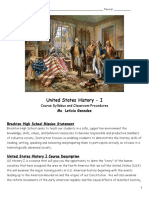 copy of united states history 1 syllabus procedures and movie permission 2018-2019