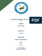 tarea 1 de evaluacion psicopedagogica 2