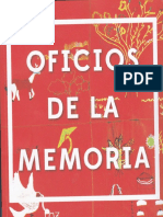 Oficios de la Memoria
