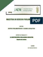 Elaboracion de agenda legislativa