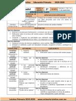 Septiembre - 1er Grado Español (2019-2020).docx