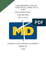 MALLA CURRICULAR LÚDICA TALITA 2020