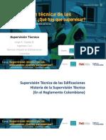 Supervision Tecnica de Las Estructuras