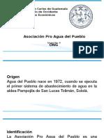 Presentación Asociacion Agua del Pueblo