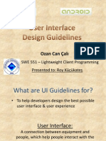 UI Design Guidelines for iPhone and Android