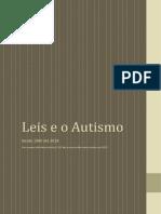 Leis e o Autismo