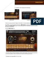 STRUM MAKER IV User Guide