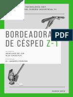 Análisis Bordeadora Z-1