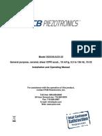 Accelerometer data sheet 352C04
