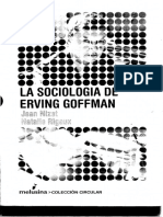 La sociología de Irving Goffman